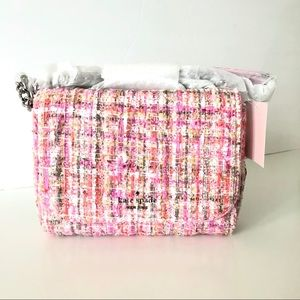 Kate Spade Quilted Tweed Mini Chain Crossbody